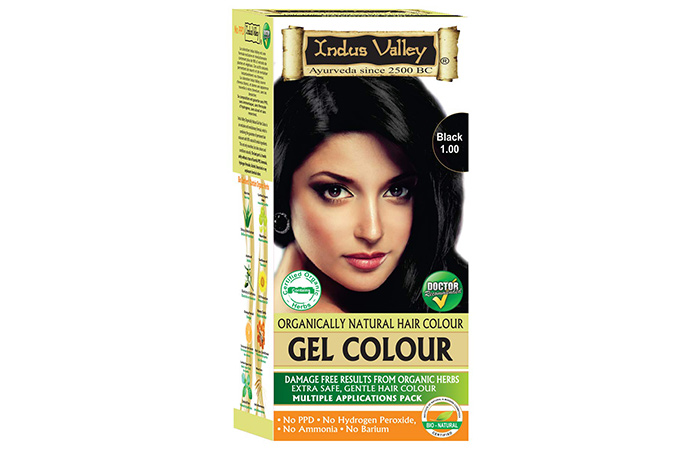 Indus Valley Natural Damage Free Gel Hair Colour