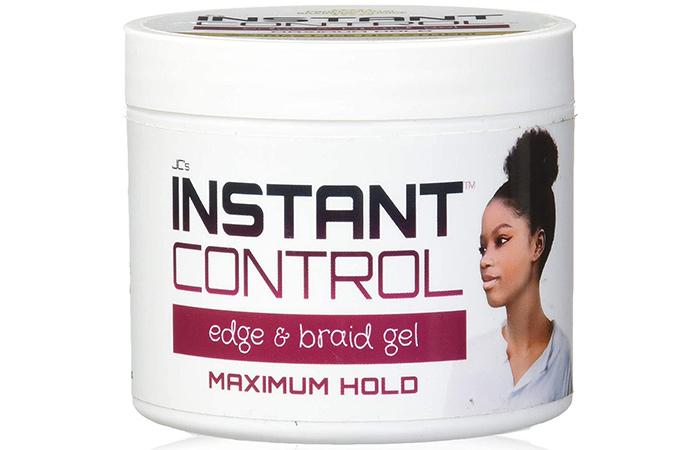 JC's Instant Control Edge & Braid Gel