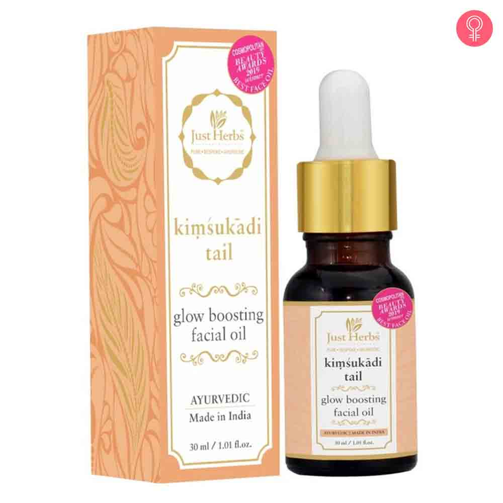 Just Herbs Kimsukadi Tail – Glow Boosting Facial Oil