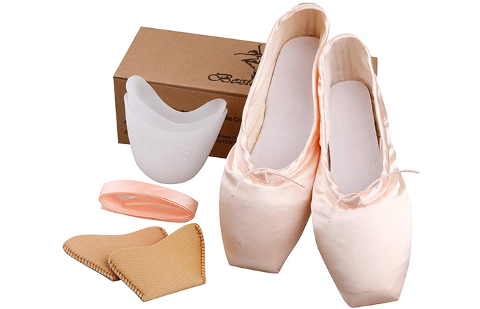 KUKOME Ballet Dance Shoes