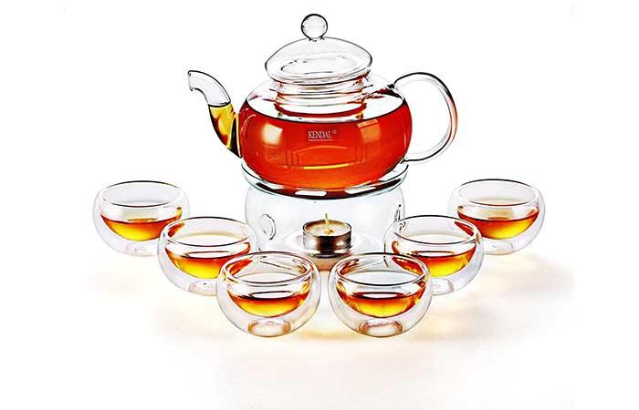 Kendal Glass Teapot Set