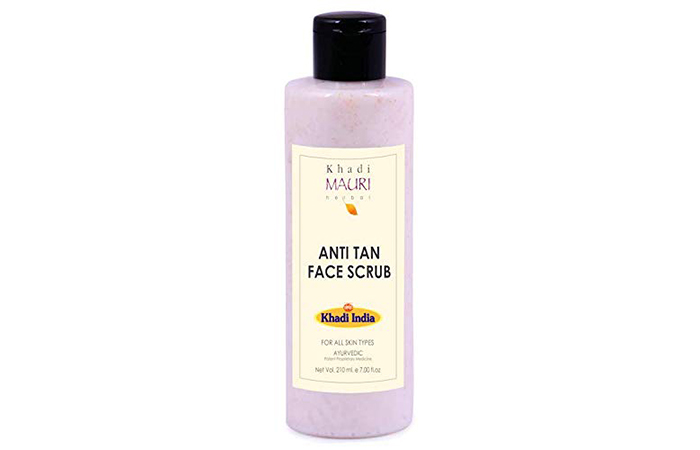 Khadi Mauri Herbal Anti Tan Face Scrub