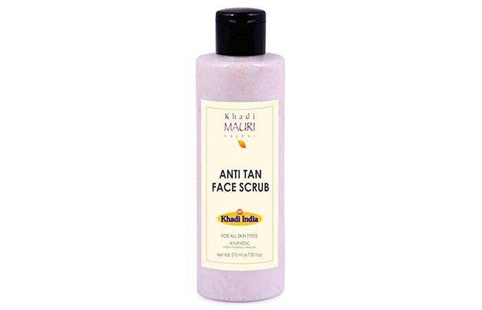 Khadi Mauri Herbal Anti Tan Face Scrub