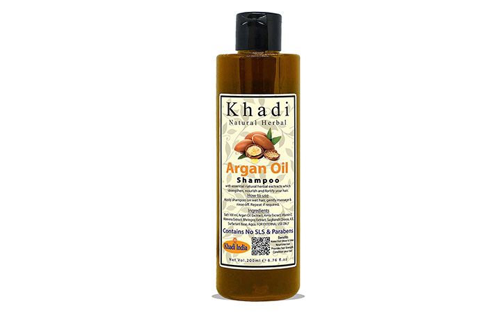 Khadi Natural Herbal Moroccan Argon Hair Shampoo