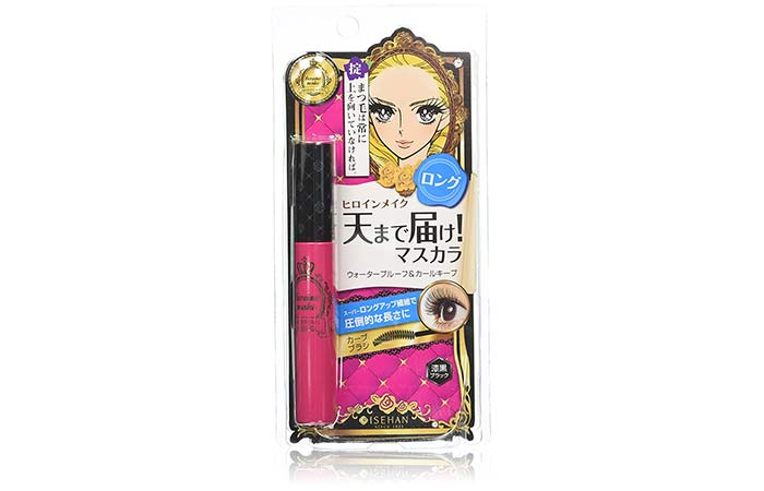 Kiss Me Heroine Make Long And Curl Mascara - N 01. Black