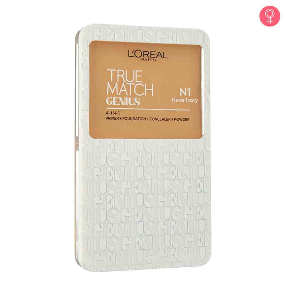 L'Oreal Paris True Match Genius 4 In 1 Compact Foundation