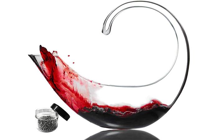 Le Sens Amazing Home Scorpion Wine Decanter