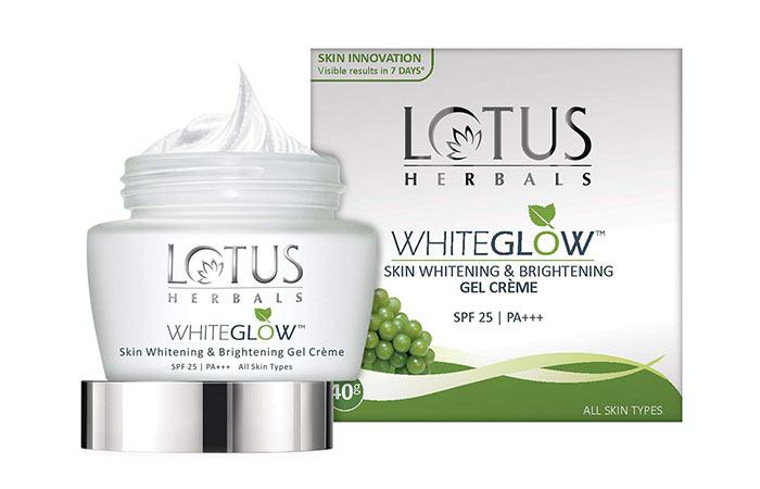 Lotus Herbal Whiteglow Skin Whitening & Brightening Gel Cream