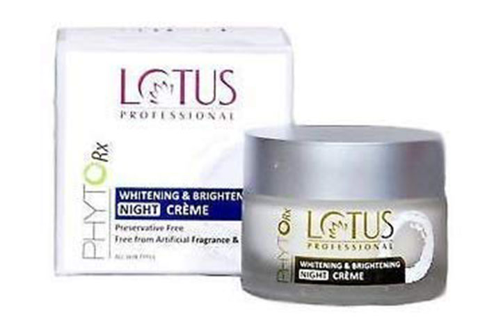 Lotus Professional FireRX Whitening and Brightening Night Cream