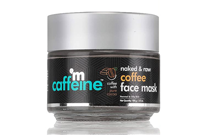 M Caffeine Naked & Raw Coffee Face Mask