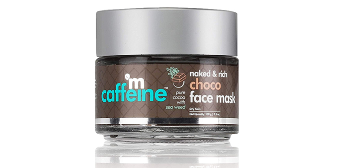 M-Caffeine Naked and Rich Choco Face Mas