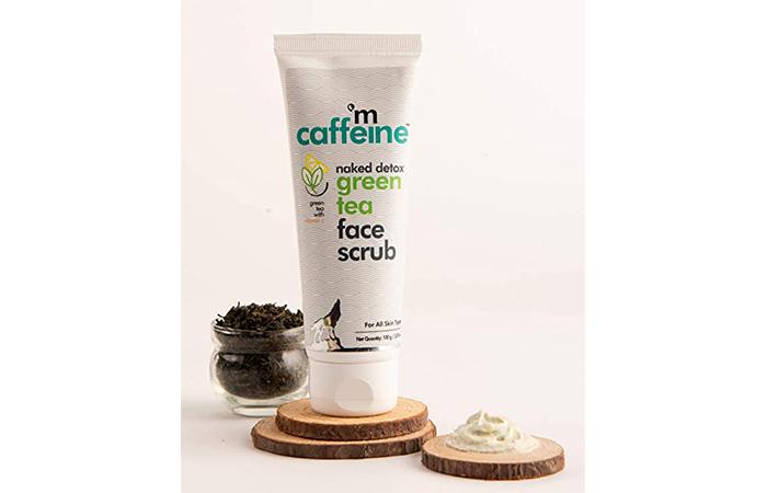 MAC Caffeine Naked Detox Green Tea Face Scrub