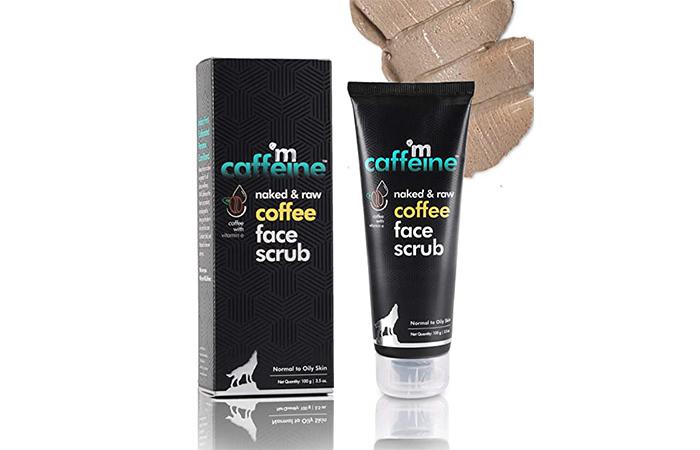 Mac Caffeine Naked & Raw Coffee Face Scrub
