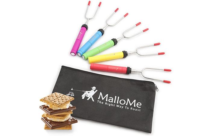 MalloMe Premium Marshmallow Roasting Sticks
