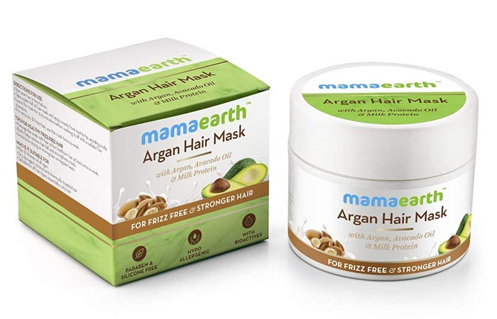 Mamaarth Argon Hair Mask