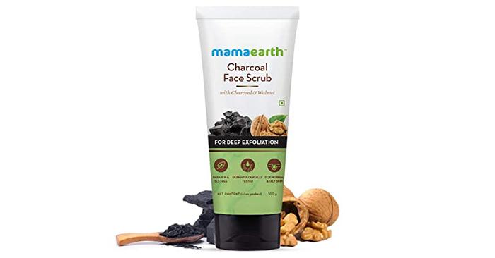 Mamaarth Charcoal Face Scrub