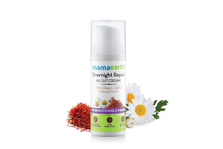 Mamaarth Overnight Repair Night Cream