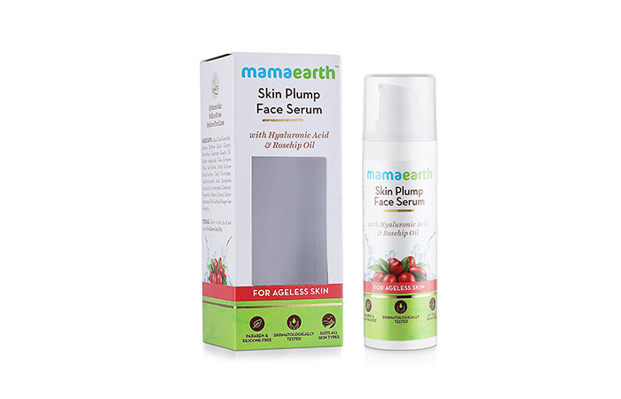 Mamaarth Skin Plump Face Serum