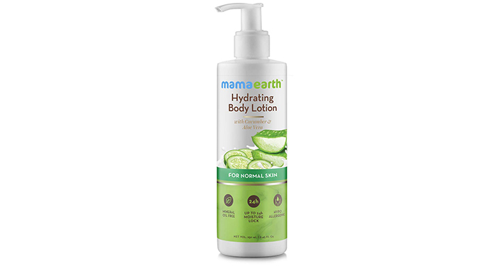 Mamaearth Hydrating Natural Body Lotion