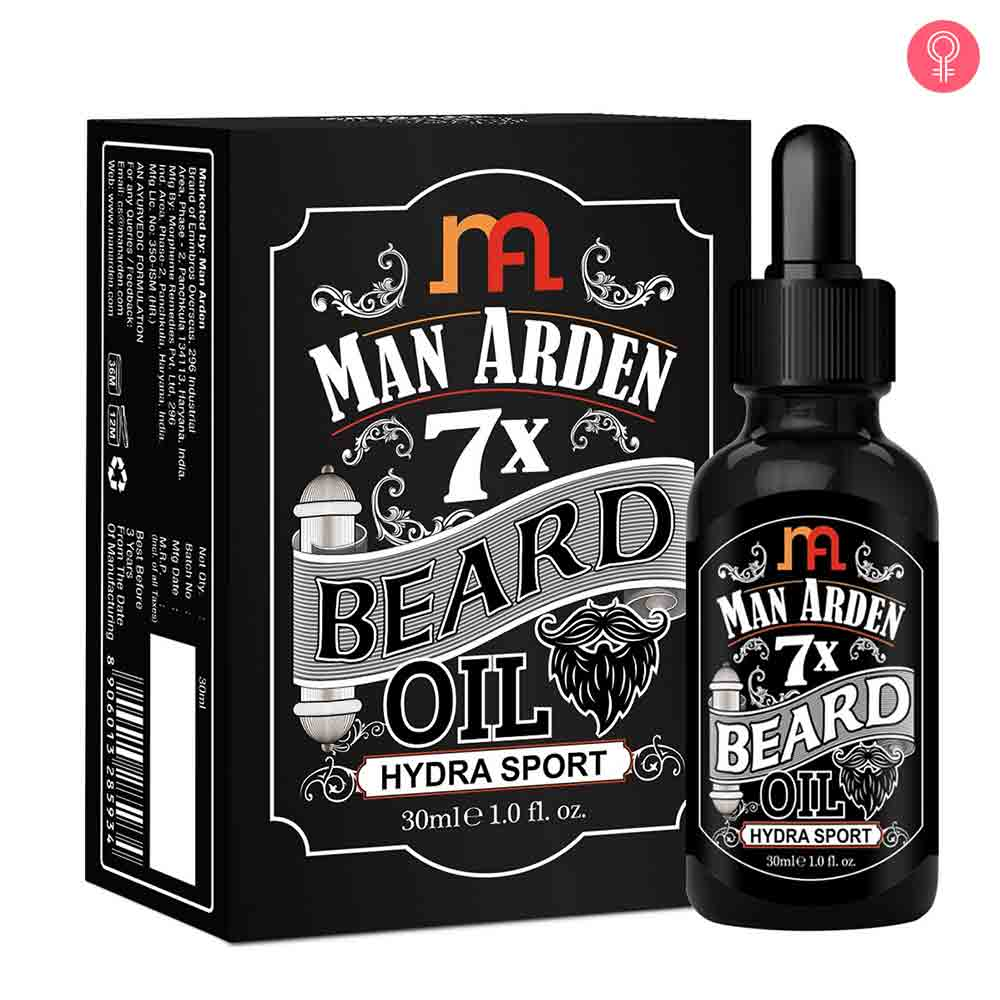 Man Arden 7X Beard Oil (Hydra Sport)