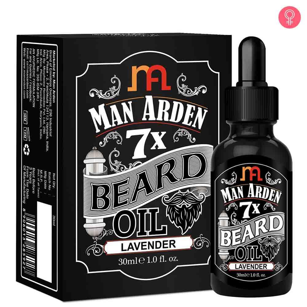 Man Arden 7X Beard Oil (Lavender)