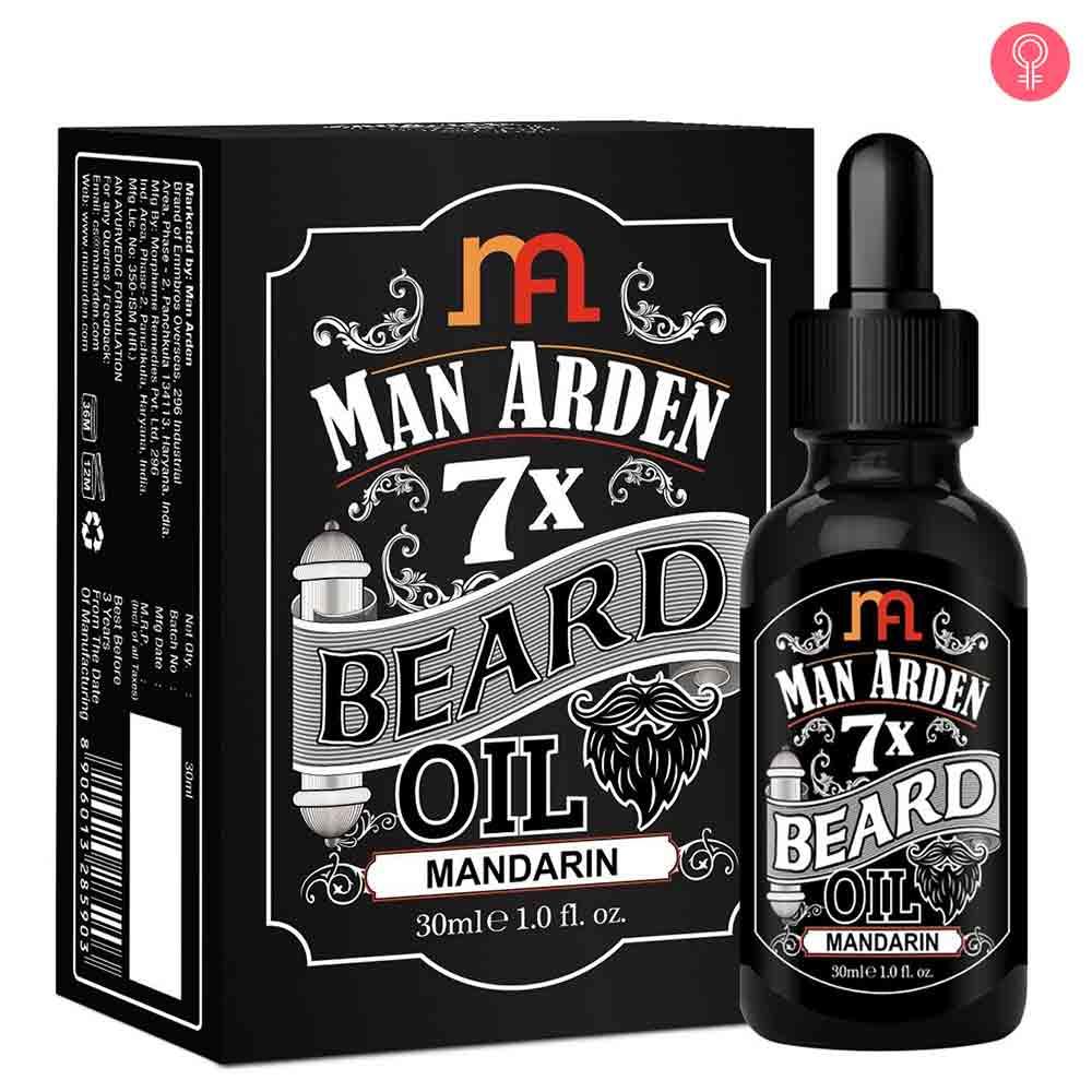 Man Arden 7X Beard Oil (Mandarin)