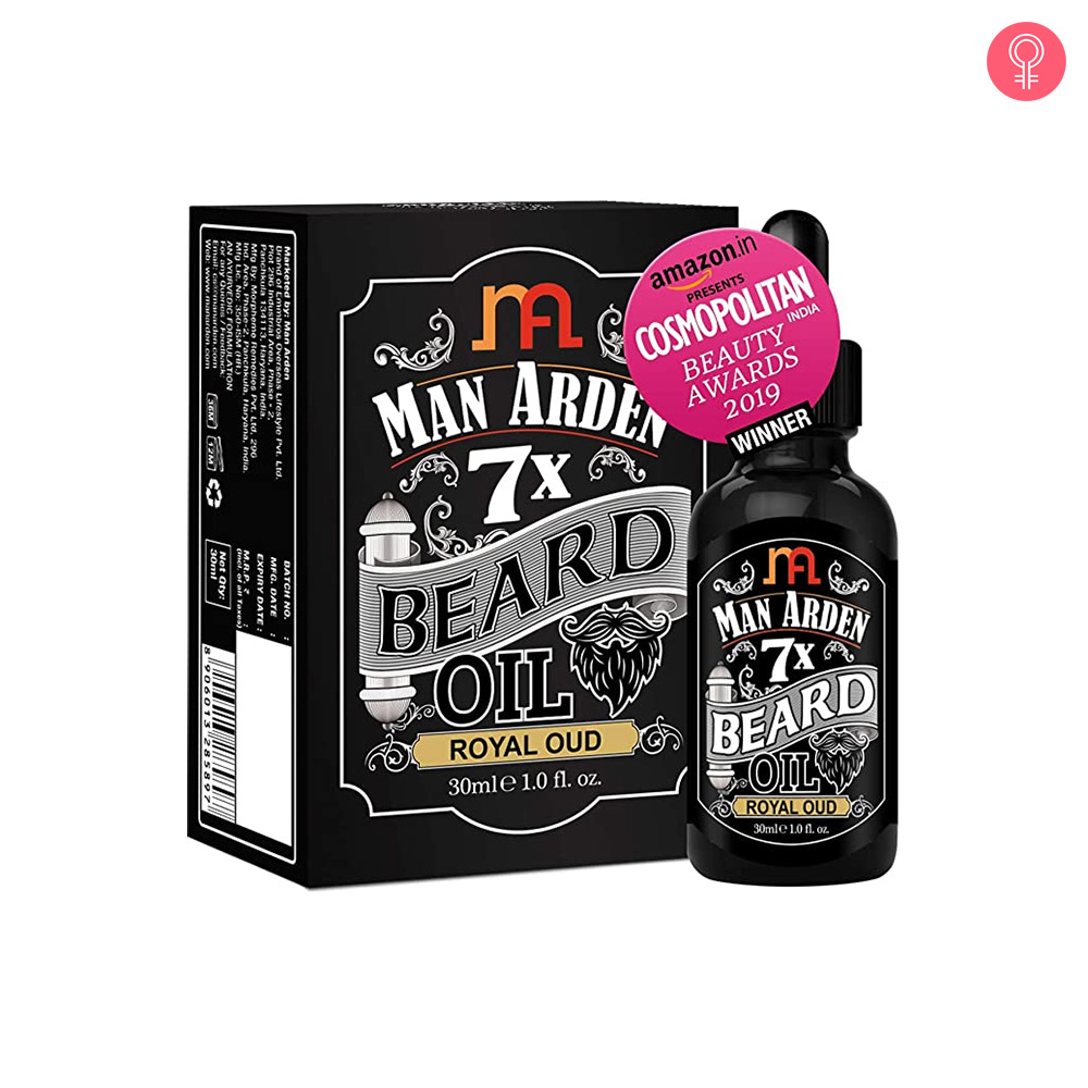 Man Arden 7X Beard Oil (Royal Oud)