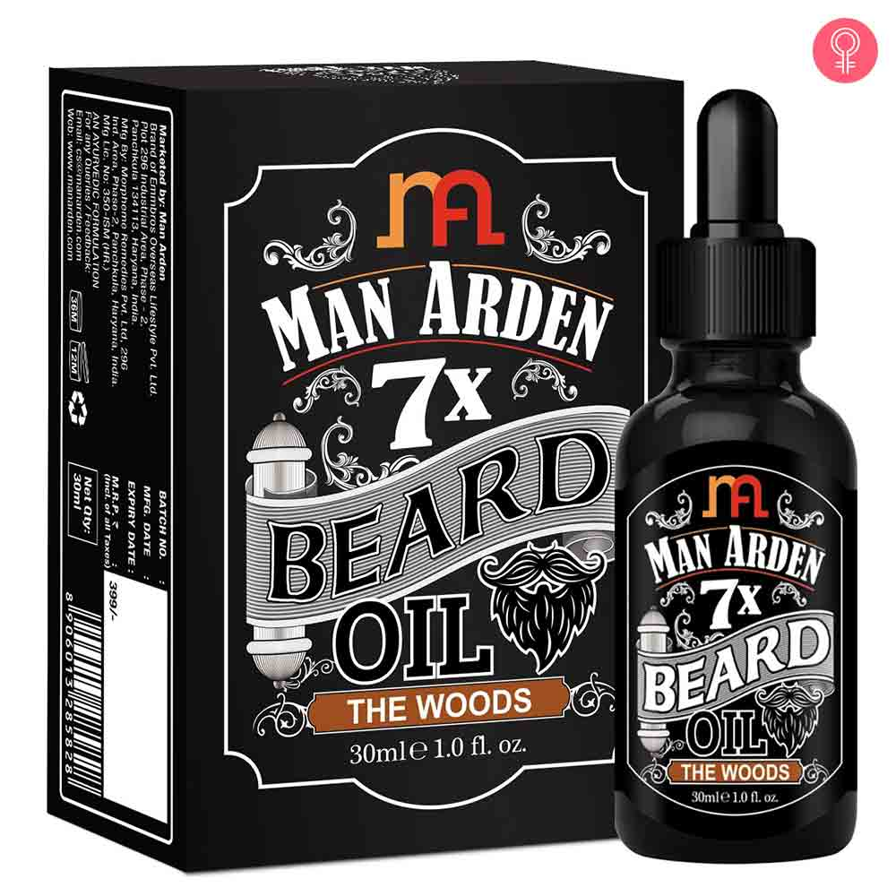 Man Arden 7X Beard Oil (The Woods)
