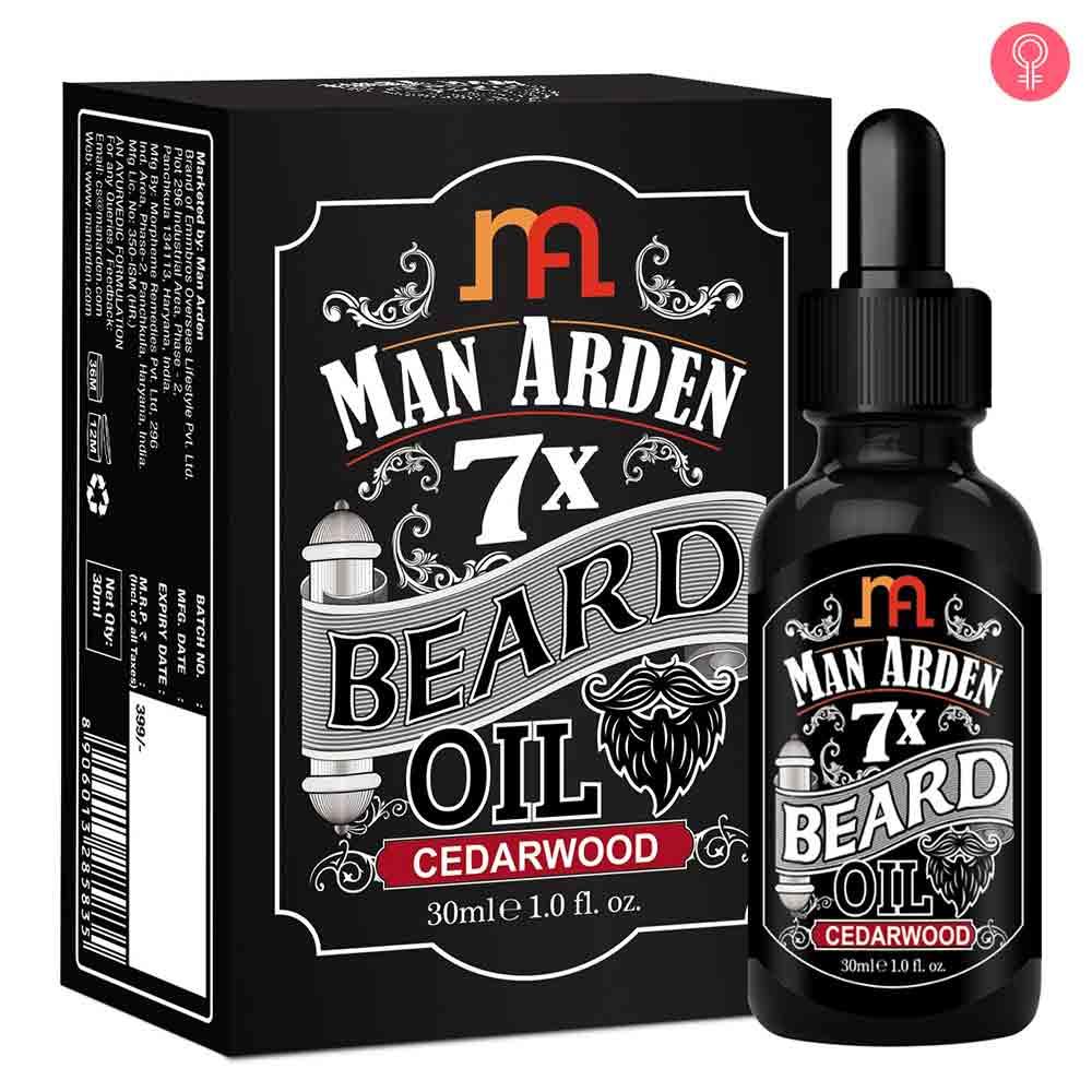 Man Arden 7X Beard Oil(Cedar Wood)