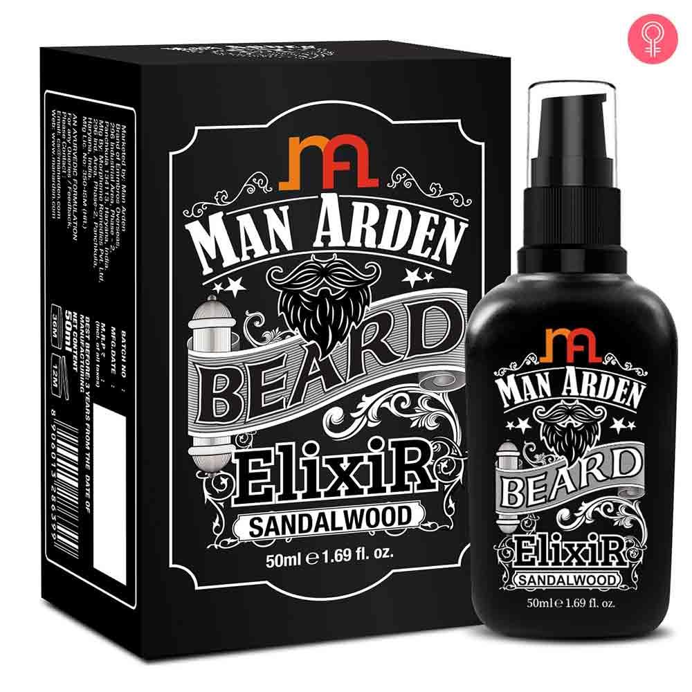 Man Arden Beard Elixir Oil (Sandalwood)