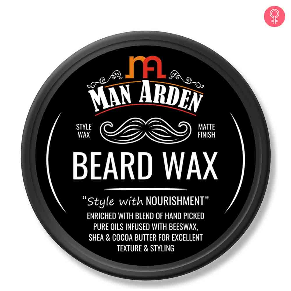 Man Arden Beard Wax – Strong Hold with Matte Finish