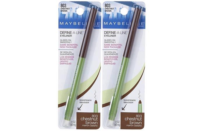 Maybelline New York Define-A-Line Eyeliner - Chestnut Brown