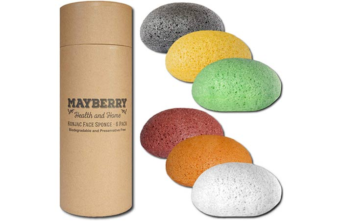 Mayberry Health And Home Konjac Facial Sponges