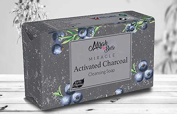 Meera Belle Miracle Activated Charcoal Cleansing Soap