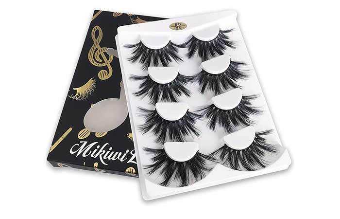 Mikivi 25mm 6D Faux Mink Lashes