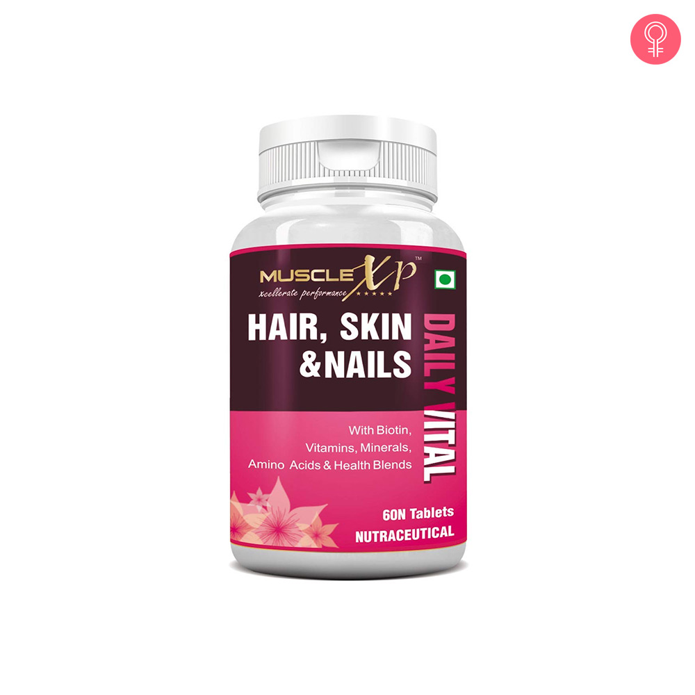 MuscleXP Biotin Hair, Skin & Nails Complete MultiVitamin With Amino Acids