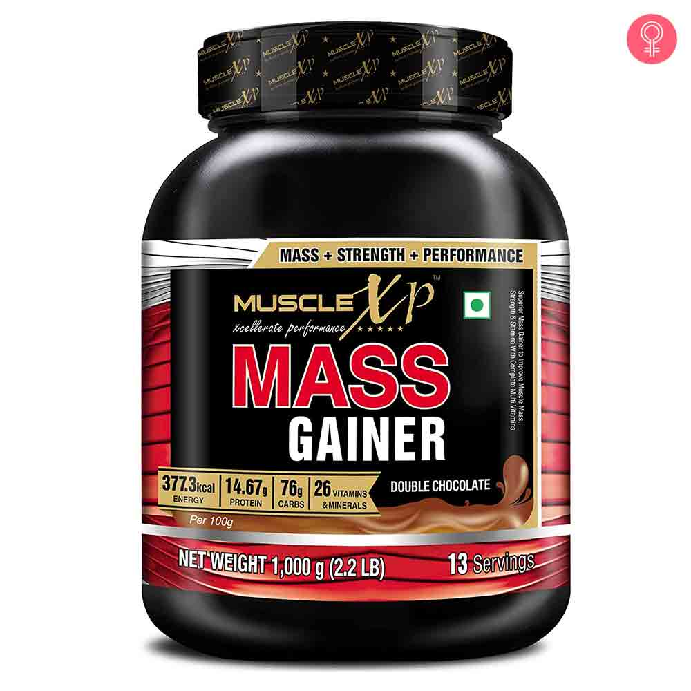 MuscleXP Mass Gainer Double Chocolate
