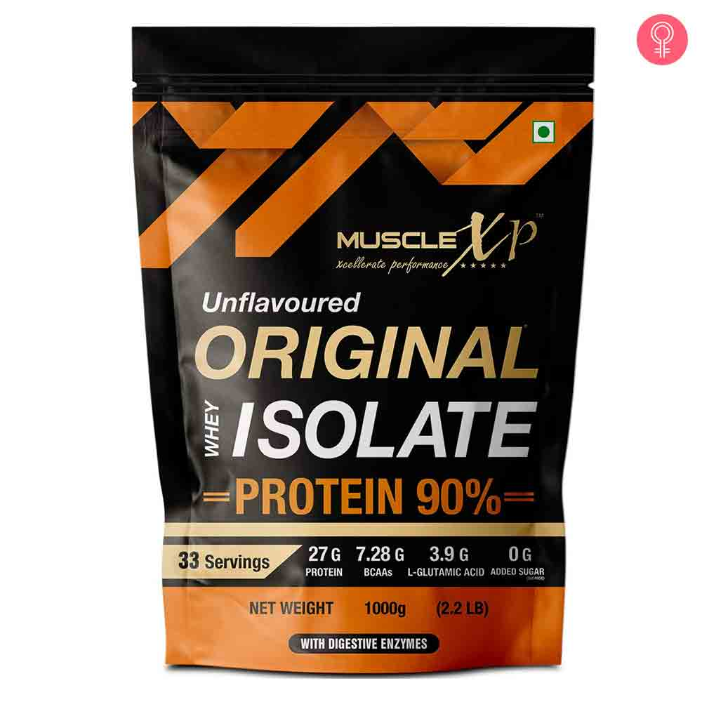 MuscleXP Original Whey Isolate Protein 90% With Digestive Enzyme