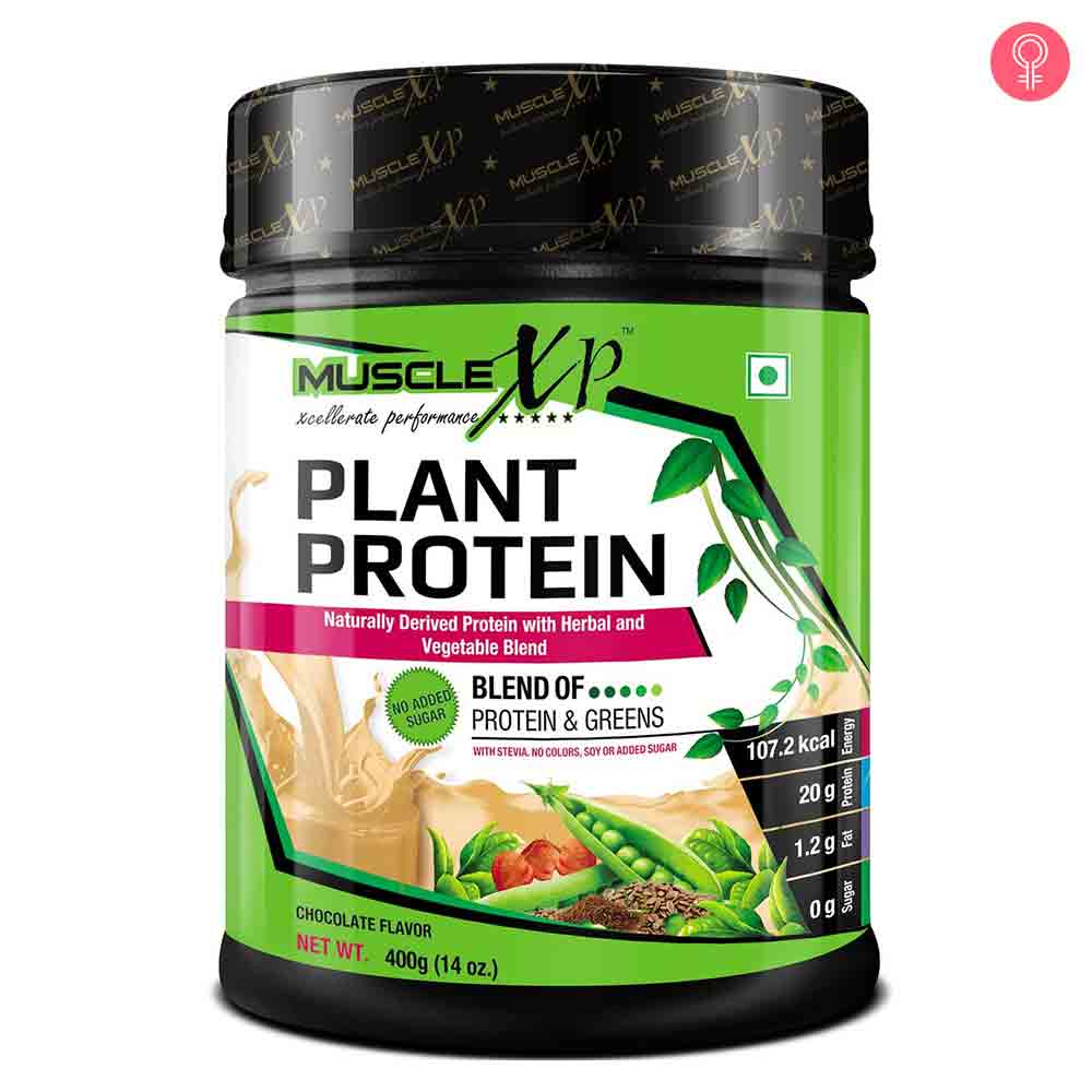 MuscleXP Plant Protein Powder