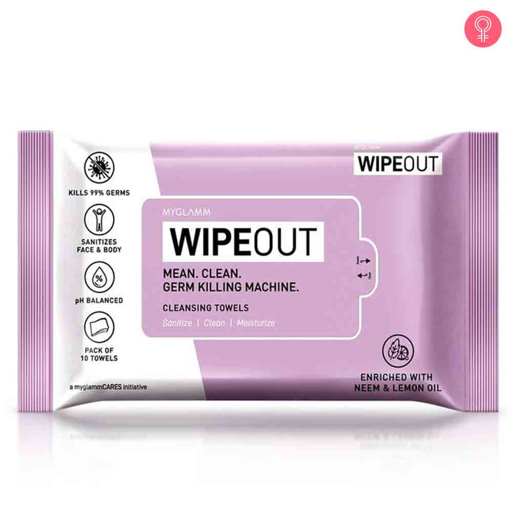 MyGlamm Wipeout Cleansing Towels