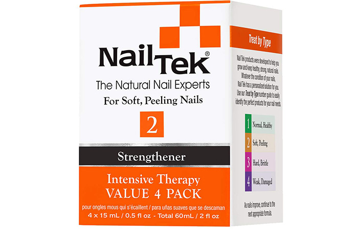 Nail Tek The Natural Nail Experts Strengthener