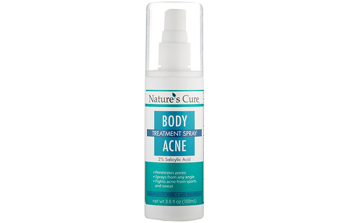 Nature's Cure Body Acne Treatment Spray