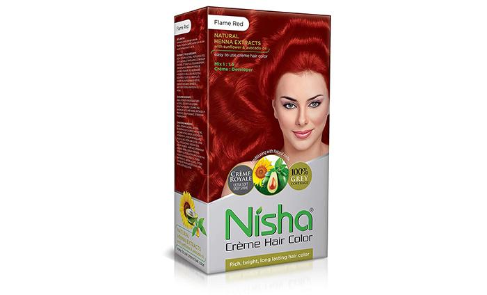 Nisha Cream Permanent Hair Color
