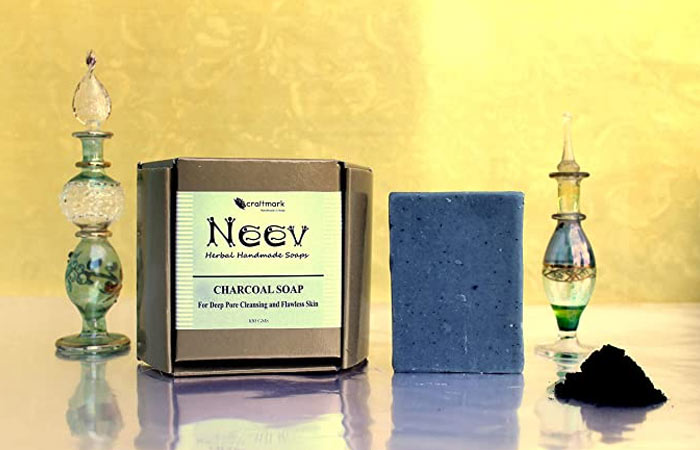 Nive Herbal Handmade Soap Charcoal Soap