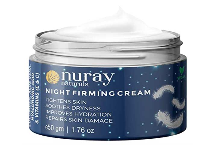Nuray Naturals Night Firming Cream