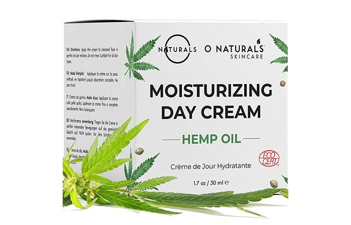 O Naturals Hemp Oil Moisturizing Cream