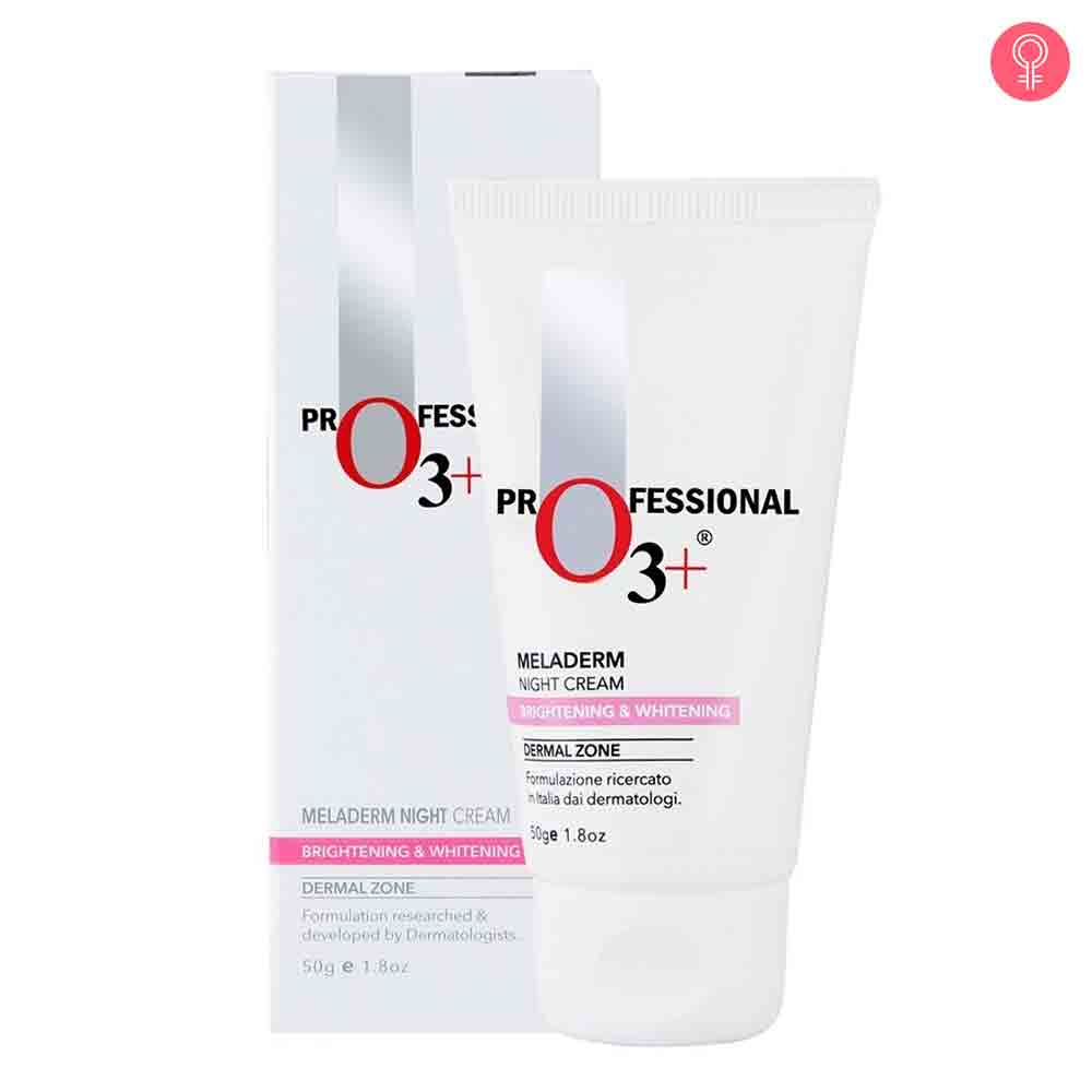O3+ Dermal Zone Meladerm Night Cream Brightening Whitening