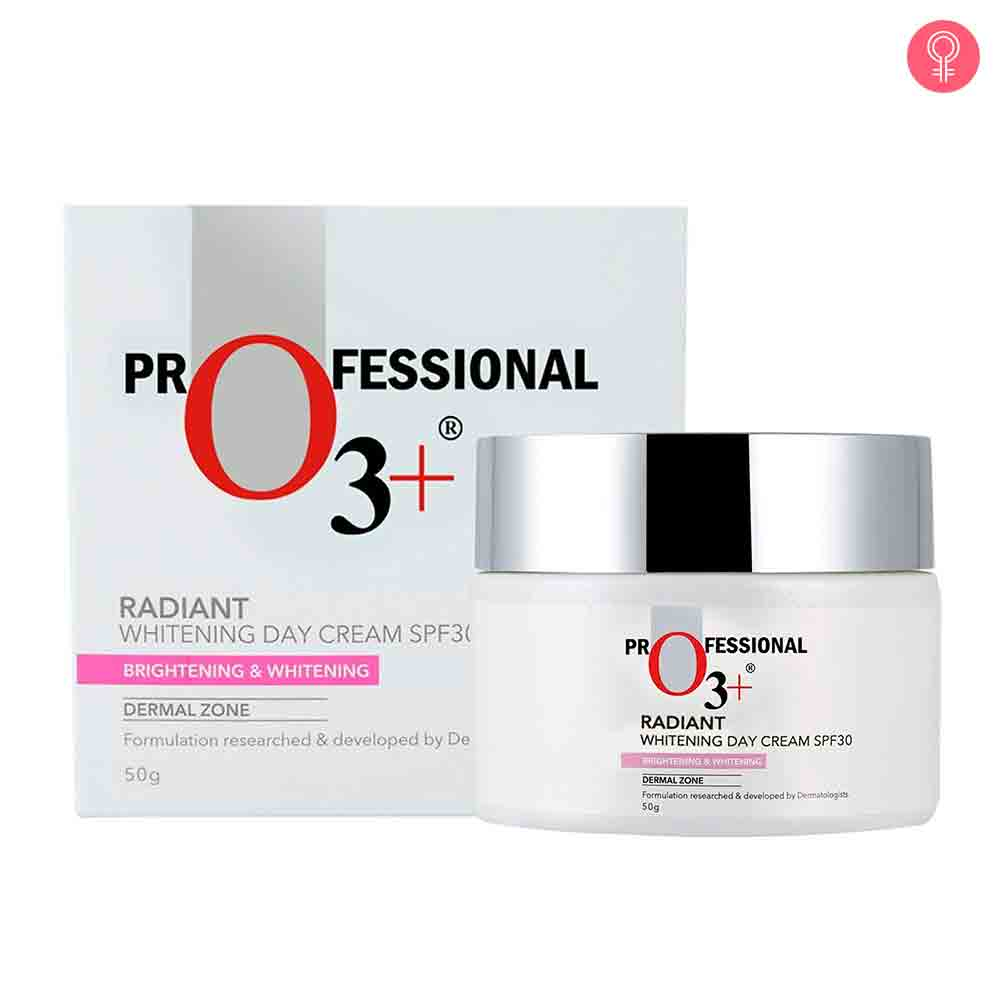 O3+ Radiant Whitening Day Cream SPF 30 For Skin Brightening & Whitening