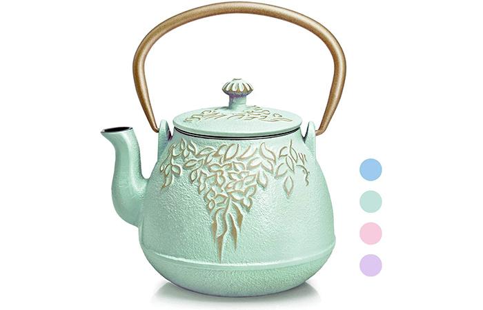 ORIGTEE Cast Iron Teapot