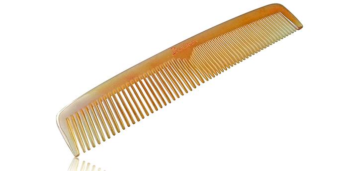 Olina Handmade Natural Sheep Horn Comb